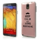 KEEP CALM AND LOVE MUSTACHE - SAMSUNG GALAXY NOTE 3