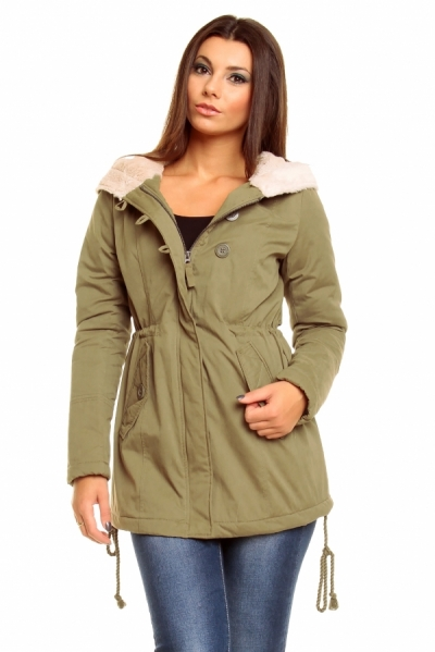 Ženska parka ROCK ANGEL D6223N44275ARS-12300-OZ3-obleke-22-jakne--bunde--vetrovke-in-softshell-i SuperFashion