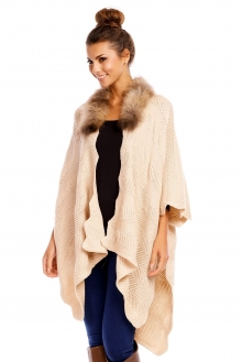 Poncho May Collection MC4053 bež