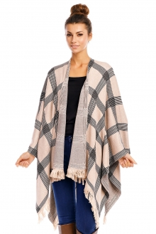 Poncho May Collection MC4062 bež
