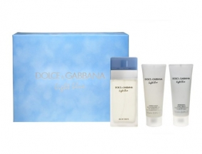 Dolce & Gabbana Light Blue (100ml toaletna voda + 100ml krema za telo + 100ml gel za tuširanje)