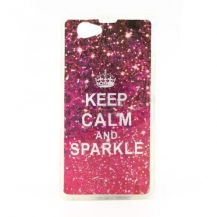 KEEP CALM AND SPARKLE - SONY XPERIA Z1 COMPACT / MINI