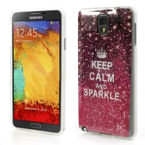 KEEP CALM AND SPARKLE - SAMSUNG GALAXY NOTE 3