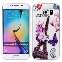SLIM PARIS FLOWER - SAMSUNG GALAXY S6 EDGE