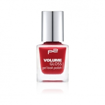 P2 Volume Gloss Gel Look Polish 180 Miss velvet