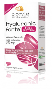 Biocyte HYALURONIC FORTE FULL SPECTRUM, 30 kapsul