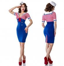 Kostum mornarka Pin Up Marine. moder