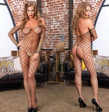 Bodystocking Ramona. črn