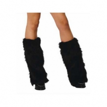 Furry Bootcovers Black