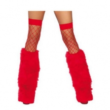 Furry Bootcovers Red