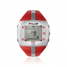 Polar FT7 Red Silver