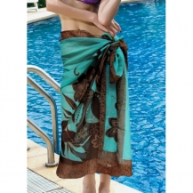 Sarong Blue Coffee
