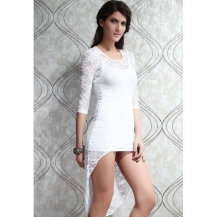 Oblekica Fancy Lace White - razprodaja zaloge