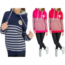 Hoodie Fashion Stripes - razprodaja zaloge