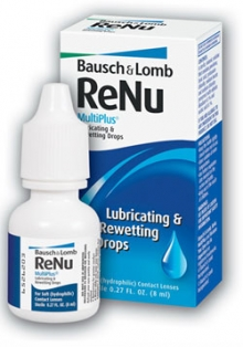 Renu MultiPlus Lubricating&Rewetting Drops 8 ml