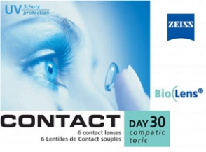 Contact Compatic Day 30 toric